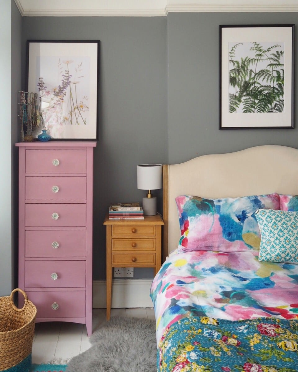 Bedroom Furniture Makeover With Chalk Paint The Bright Blooms