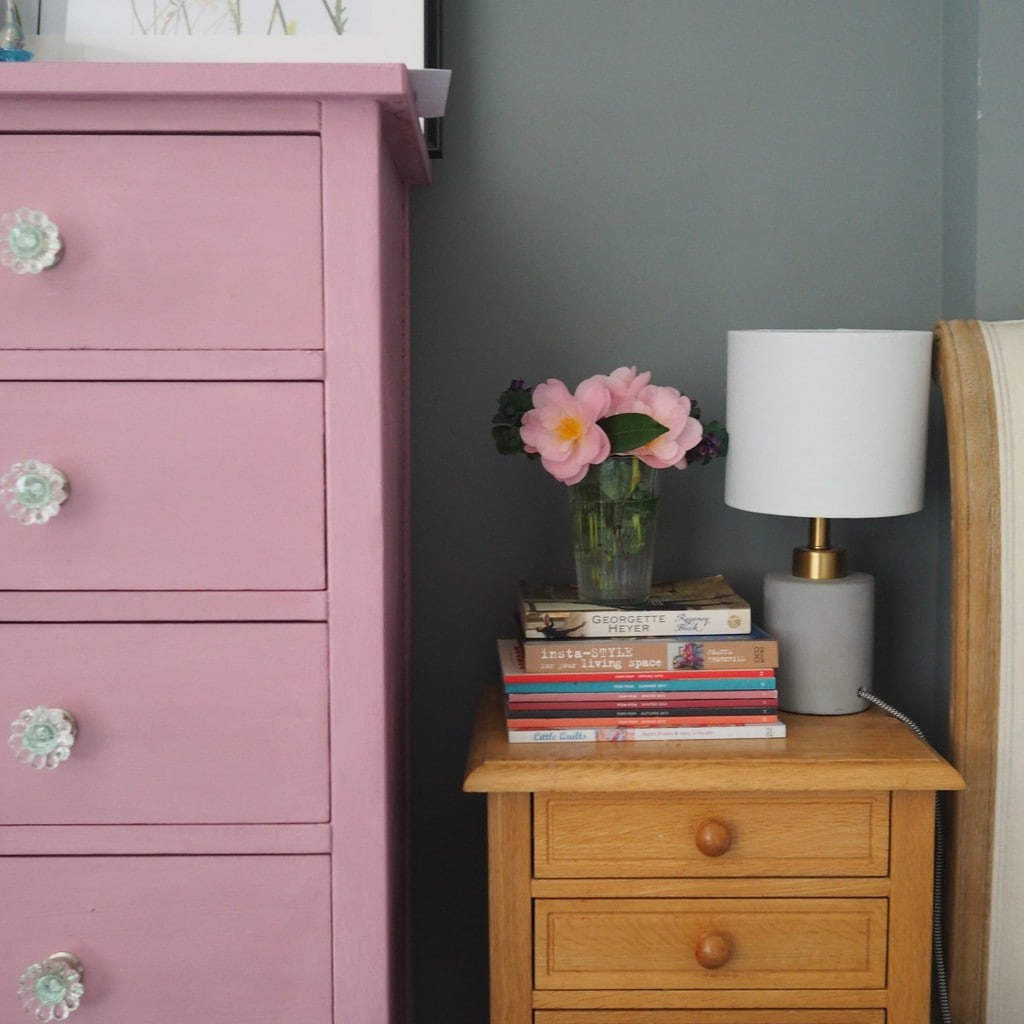 Bedroom Furniture Makeover with Chalk Paint - The Bright Blooms